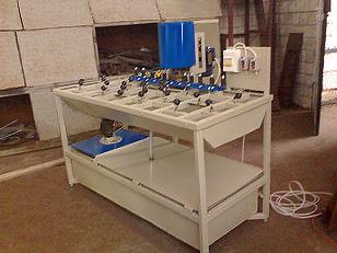 Станок для шлифовки и полировки кромок стекла (фото 2)