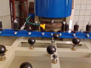 Станок для шлифовки и полировки кромок стекла (фото 5)