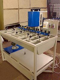 Станок для шлифовки и полировки кромок стекла (фото 7)
